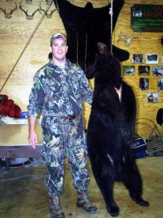 Bear hunting in Maine