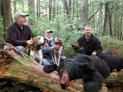 Washington County guided black bear hunt