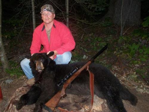 Maine bear guide service