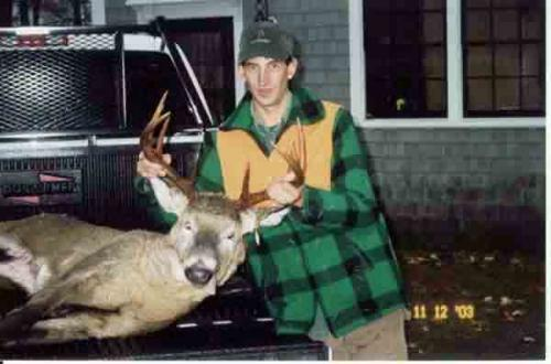 Maine whitetail deer hunting