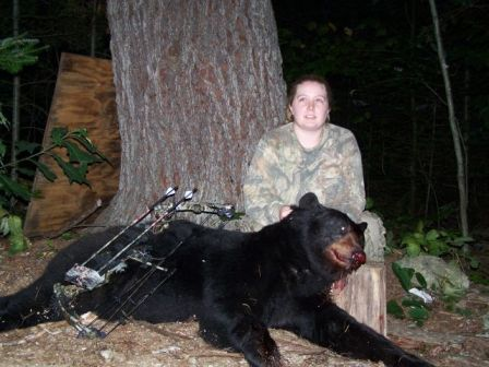 Maine guided bear hunting