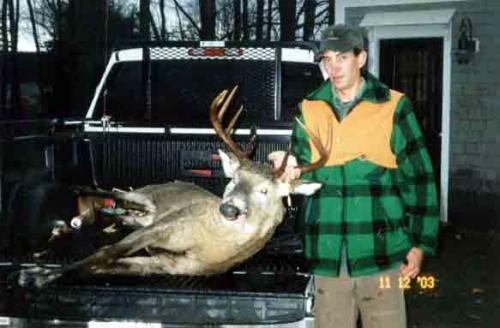Trophy Whitetail deer hunting in Maine