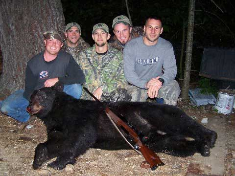 Guided Maine bear hunts