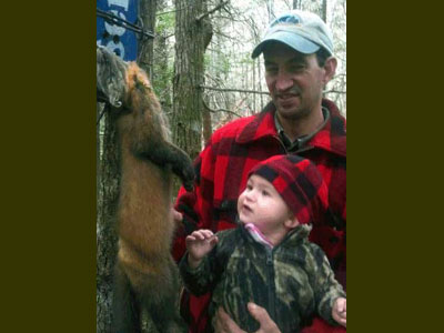 Washington County Maine guided trapping
