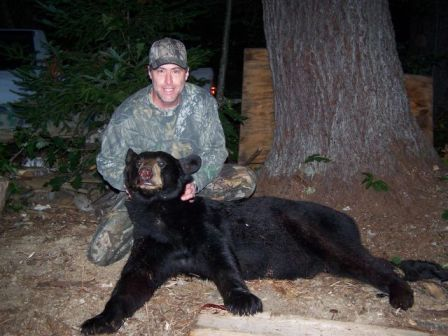 Maine guided blackbear hunt