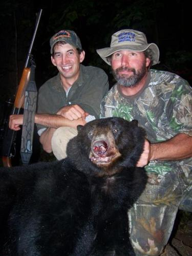 Blackbear guide hunts