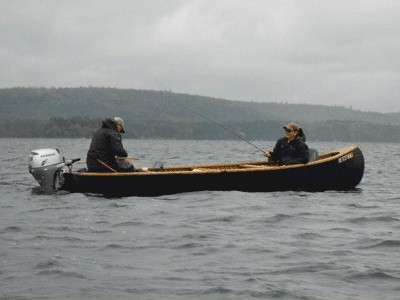Chartered fishing in Maine