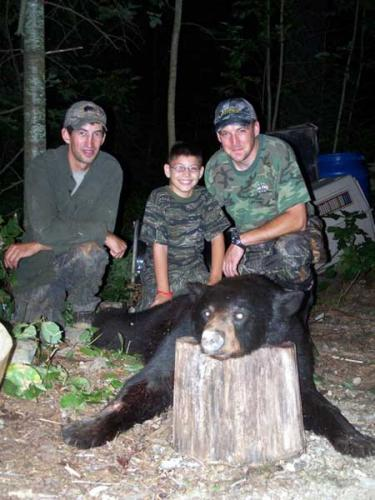 Blackbear hunting Maine
